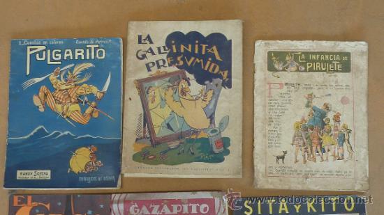 Libros antiguos: Lote de 6 cuentos antiguos. Calleja, Sopena... Tamaño grande. - Foto 2 - 31100130