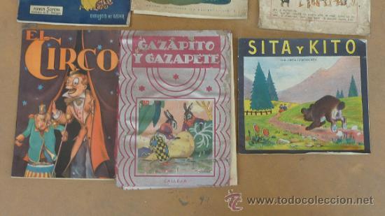Libros antiguos: Lote de 6 cuentos antiguos. Calleja, Sopena... Tamaño grande. - Foto 3 - 31100130