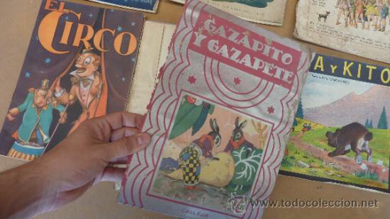 Libros antiguos: Lote de 6 cuentos antiguos. Calleja, Sopena... Tamaño grande. - Foto 4 - 31100130