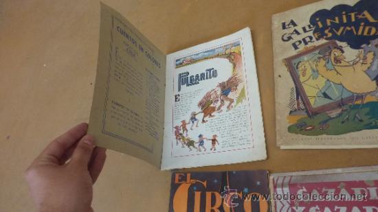 Libros antiguos: Lote de 6 cuentos antiguos. Calleja, Sopena... Tamaño grande. - Foto 5 - 31100130