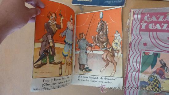 Libros antiguos: Lote de 6 cuentos antiguos. Calleja, Sopena... Tamaño grande. - Foto 7 - 31100130