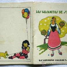 Libros antiguos: LOS GUSANITOS DE SEDA - ED.SATURNINO CALLEJA - RECREO INFANTIL SERIE V TOMO 89. Lote 31325761