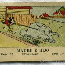 Libros antiguos: MADRE E HIJO - ED.SATURNINO CALLEJA - JUGUETES INSTRUCTIVOS MICKEY SERIE III TOMO 52. Lote 31325921
