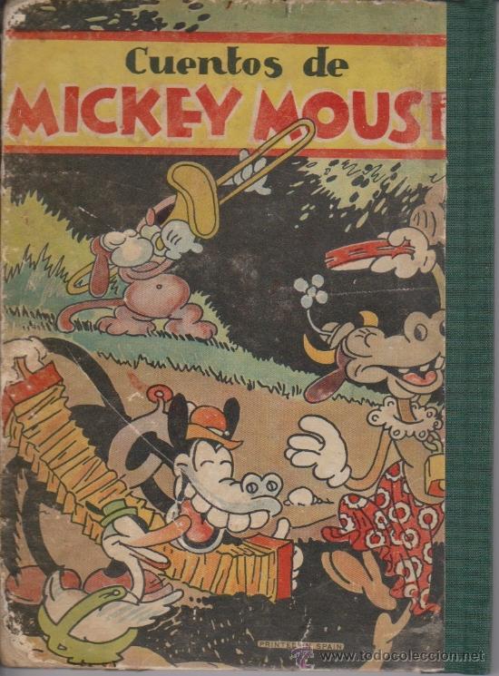 CUENTOS DE MICKEY MOUSE (Libros Antiguos, Raros y Curiosos - Literatura Infantil y Juvenil - Cuentos)