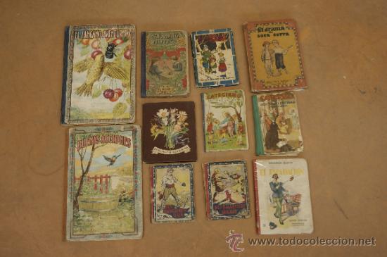 Lote de 11 libros cuentos infantiles muy antigu comprar - Libros antiguos valor ...