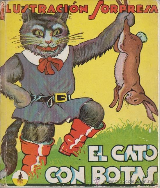 EL GATO CON BOTAS (Libros Antiguos, Raros y Curiosos - Literatura Infantil y Juvenil - Cuentos)