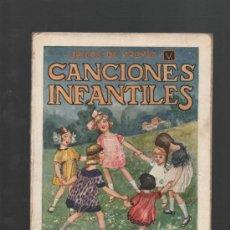 Libros antiguos: CANCIONES INFANTILES EDITORIAL RAMON SOPENA BARCELONA DIBUJOS DE LLAVERIAS. Lote 32498167