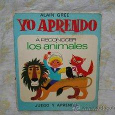 Libros antiguos: LIBRO YO APRENDO ALAIN GREE. Lote 32642787