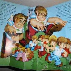 Libros antiguos: ANTIGUO DIORAMA CUENTO DE EL PULGARCITO. Lote 32685732