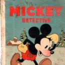 Libros antiguos: MICKEY DETECTIVE. ED. SATURNINO CALLEJA.. Lote 32769639