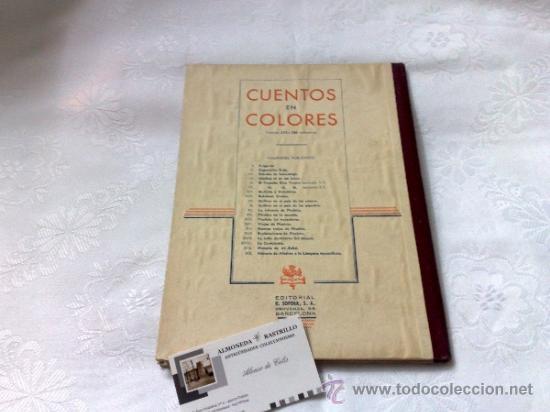 Libros antiguos: AÑO 1943- RAMON SOPENA.- BIBLIOTECA PARA NIÑOS.-FÁBULAS DE ESOPO. - Foto 6 - 33214138