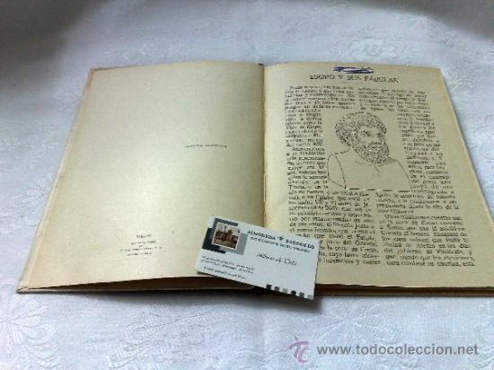 Libros antiguos: AÑO 1943- RAMON SOPENA.- BIBLIOTECA PARA NIÑOS.-FÁBULAS DE ESOPO. - Foto 3 - 33214138