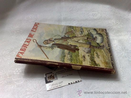 Libros antiguos: AÑO 1943- RAMON SOPENA.- BIBLIOTECA PARA NIÑOS.-FÁBULAS DE ESOPO. - Foto 7 - 33214138