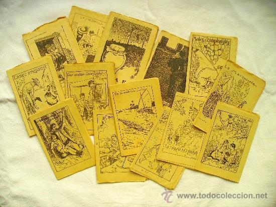 LOTE 14 CUENTOS DE LA COLECCIÓN EN PATUFET - PRINCIPIOS SIGLO XX (VER FOTOGRAFÍAS) (Libros Antiguos, Raros y Curiosos - Literatura Infantil y Juvenil - Cuentos)