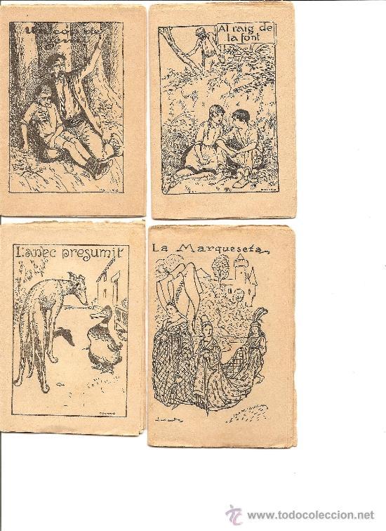 Libros antiguos: LOTE 14 CUENTOS DE LA COLECCIÓN EN PATUFET - PRINCIPIOS SIGLO XX (VER FOTOGRAFÍAS) - Foto 2 - 33403180
