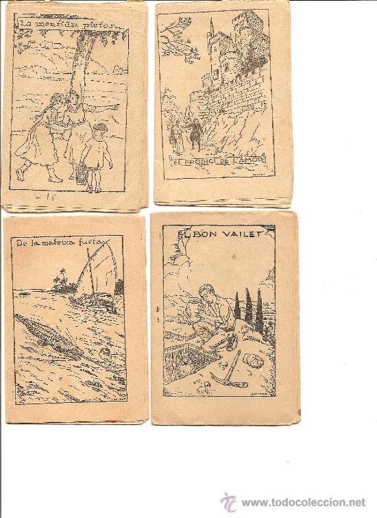 Libros antiguos: LOTE 14 CUENTOS DE LA COLECCIÓN EN PATUFET - PRINCIPIOS SIGLO XX (VER FOTOGRAFÍAS) - Foto 3 - 33403180