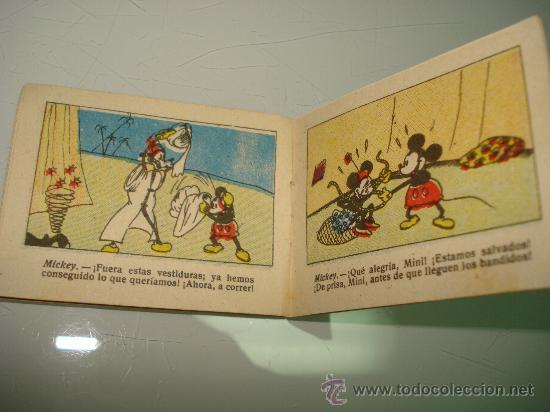 Libros antiguos: Juguetes Instructivos MICKEY ** UNA FUGA INGENIOSA ** Ed. Saturnino Calleja Ilustrado Año 1936 - Foto 2 - 33568789