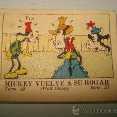 Libros antiguos: JUGUETES INSTRUCTIVOS MICKEY **MICKEY VUELVE A SU HOGAR** ED. SATURNINO CALLEJA ILUSTRADO AÑO 1936. Lote 33568762