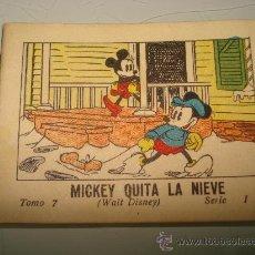 Libros antiguos: JUGUETES INSTRUCTIVOS MICKEY **MICKEY QUITA LA NIEVE** ED. SATURNINO CALLEJA ILUSTRADO AÑO 1936. Lote 33568764