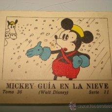 Libros antiguos: JUGUETES INSTRUCTIVOS MICKEY **MICKEY GUIA EN LA NIEVE** ED. SATURNINO CALLEJA ILUSTRADO AÑO 1936. Lote 33568783