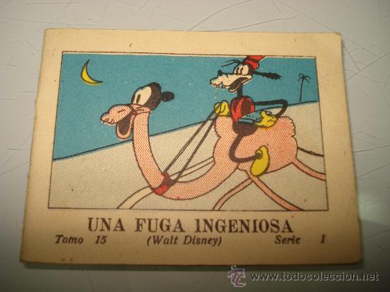 JUGUETES INSTRUCTIVOS MICKEY ** UNA FUGA INGENIOSA ** ED. SATURNINO CALLEJA ILUSTRADO AÑO 1936 (Libros Antiguos, Raros y Curiosos - Literatura Infantil y Juvenil - Cuentos)