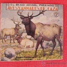Libros antiguos: EL REINO ANIMAL PARA NIÑOS. 1 Y 2. EDITORIAL RAMÓN SOPENA. (LG00056). Lote 33643321