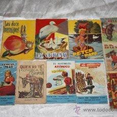 Libros antiguos: CR056 COLECCIÓN DE 10 CUENTOS INFANTILES - DE CALLEJA Y OTRAS EDITORIALES. Lote 34010447