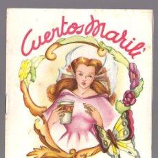 Libros antiguos: CUENTOS MARILI - EL VASO MAGICO - EDITORIAL J.L. AGUILAR (VALENCIA). Lote 34051984