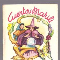 Libros antiguos: CUENTOS MARILI - PULGARCITA - EDITORIAL J.L. AGUILAR (VALENCIA). Lote 34051988