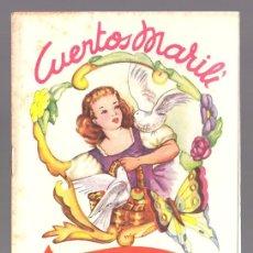 Libros antiguos: CUENTOS MARILI - CENICIENTA - EDITORIAL J.L. AGUILAR (VALENCIA). Lote 34052005