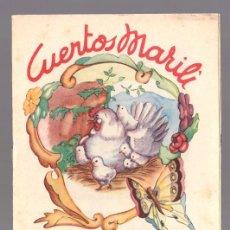 Libros antiguos: CUENTOS MARILI - EL POLLITO COLORADO - EDITORIAL J.L. AGUILAR (VALENCIA). Lote 34052009