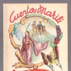 Libros antiguos: CUENTOS MARILI - LA PRINCESA CAUTIVA - EDITORIAL J.L. AGUILAR (VALENCIA). Lote 34052015