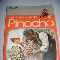 Libros antiguos: LIBRO LAS AVENTURAS DE PINOCHO , DE COLLODI .. Lote 34206342