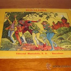 Libros antiguos: ROSALINDA. OPISSO. EDIT. MUNTAÑOLA 1919. Lote 34258277