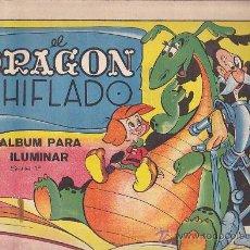 Libros antiguos: CUADERNO DE PINTURA EL DRAGON CHIFLADO EDITORIAL VILCAR . Lote 34449589