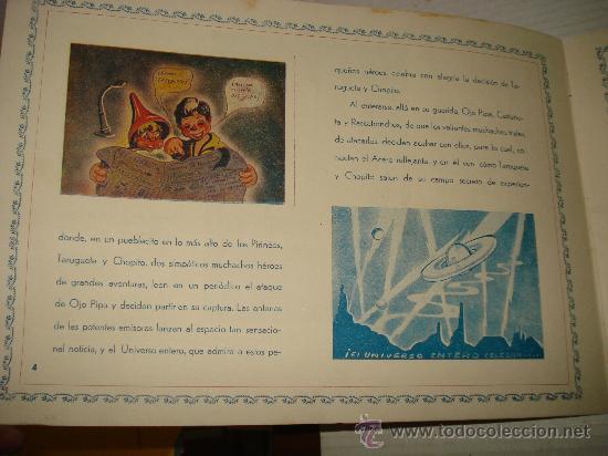 Libros antiguos: AVENTURAS DE TARUGUETE CONTRA OJO-PIPA /POR: ANGEL DE ECHENIQUE - EDITA: EDITORIAL RADIO - Foto 4 - 159382474