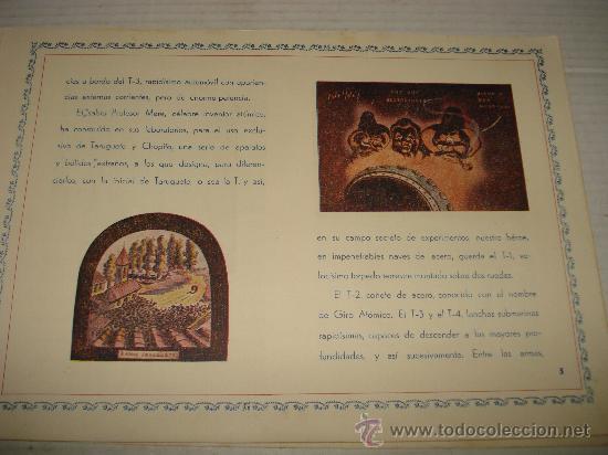 Libros antiguos: AVENTURAS DE TARUGUETE CONTRA OJO-PIPA /POR: ANGEL DE ECHENIQUE - EDITA: EDITORIAL RADIO - Foto 5 - 159382474