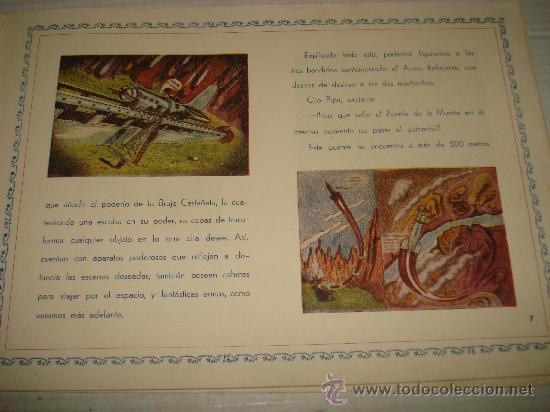 Libros antiguos: AVENTURAS DE TARUGUETE CONTRA OJO-PIPA /POR: ANGEL DE ECHENIQUE - EDITA: EDITORIAL RADIO - Foto 6 - 159382474