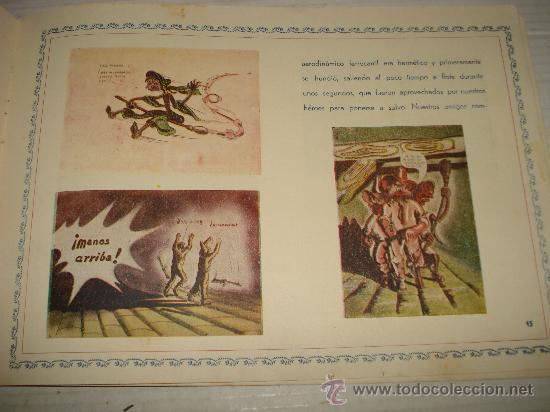 Libros antiguos: AVENTURAS DE TARUGUETE CONTRA OJO-PIPA /POR: ANGEL DE ECHENIQUE - EDITA: EDITORIAL RADIO - Foto 2 - 159382474