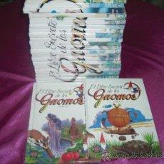 Libros antiguos: EL LIBRO SECRETO DE LOS GNOMOS COMPLETA DEL 2 AL 25. Lote 207081713