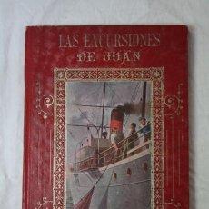 Libros antiguos: LIBRO EXCURSIONES DE JUAN POR MANUEL MARINEL-LO - BIBLIOTECA ENRIQUETA AÑO 1909 COLL SALIETI. Lote 34671878