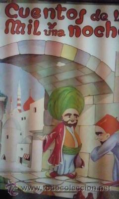 CUENTOS DE LAS MIL Y UNA NOCHES (BARCELONA, 1959) ADAPTACIÓN INFANTIL (Libros Antiguos, Raros y Curiosos - Literatura Infantil y Juvenil - Cuentos)