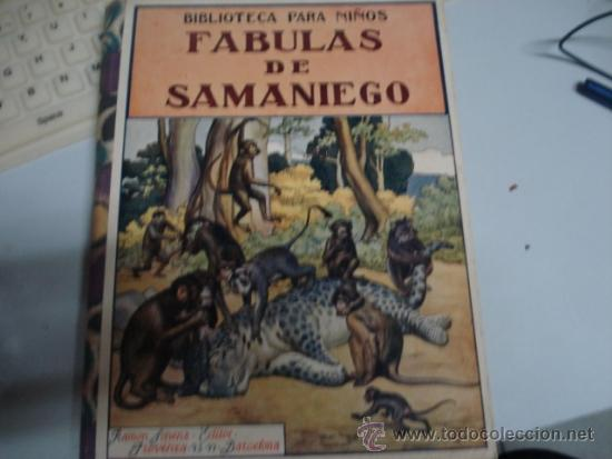 FABULAS DE SABANIEGO 1934 (Libros Antiguos, Raros y Curiosos - Literatura Infantil y Juvenil - Cuentos)
