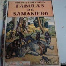 Libros antiguos: FABULAS DE SABANIEGO 1934 . Lote 34828960