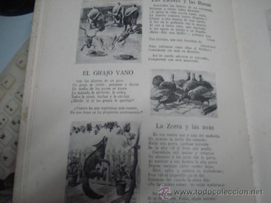 Libros antiguos: fabulas de sabaniego 1934 - Foto 2 - 34828960