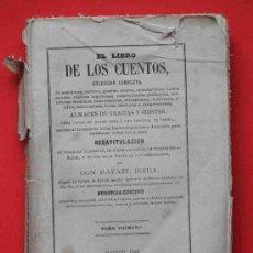 Libros antiguos: TÍTULO: EL LIBRO DE LOS CUENTOS AUTOR: BOIRA, RAFAEL. Lote 35056571