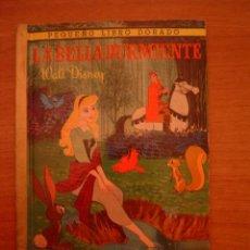 Libros antiguos: LIBRO LA BELLA DURMIENTE - WALT DISNEY- PEQUEÑO LIBRO DORADO. Lote 35166371