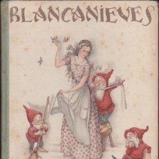 Libros antiguos: BLANCANIEVES 1ª EDICION EDITORIAL JUVENTUD ILUSTRADO POR M LLIMONA . Lote 35621436