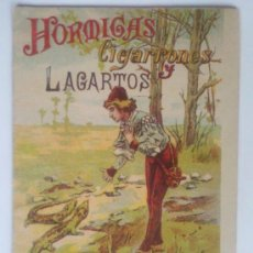 Alte Bücher - BIBLIOTECA DE CUENTOS PARA NIÑOS, HORMIGAS, CIGARRONES Y LAGARTOS, EDITA SATURNINO CALLEJA - 36660225