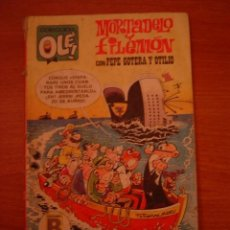 Libros antiguos: TEBEO MORTADELO Y FILEMON - CON PEPE GOTERA Y OTILIO -- COLECCIN OLE . Lote 36801809